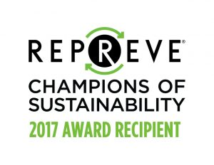 Repreve Champions of Sustainability Recipient 2017